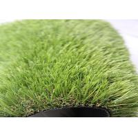 Cheap Healthy Stable Outdoor Artificial Grass Carpet , Fake Grass Outdoor Rug for sale