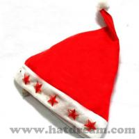 c2ebe4ca2d661 Buy cheap wholesale cheap Red Christmas Santa hats Xmas hat with pompom  adult santa hat from