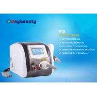 Cheap Portable Q Switched Nd Yag Laser Tattoo Removal Machine Color Touch Screen CE Approved for sale
