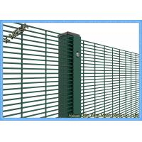 Cheap PVC Coated Woven Wire Mesh Panels Galvanized Core WireSturdy For Prison for sale