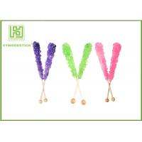 Cheap Custom Decorative Cake Pop Sticks , Wood Round Sticks For Cotton Candy for sale