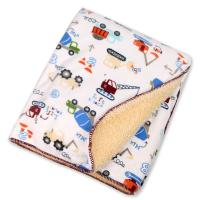 Cheap Eco - Friend Customized Lightweight Polyester Baby Blanket Warped Knitting for sale