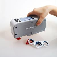 CIELAB Portable Color Meter High Accuracy For Leather Color Analysis