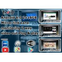 Android Navigation Car Video Interface Support Waze / Youtube For