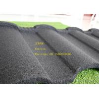 Cheap Aluminum Zinc Stone Coated Metal Roofing Tile In Red Black Green Brown for sale
