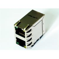 Cheap DA1T002I3 Stacked RJ45 2x1 Integrated Magnetics 1000Base-Tx Ethernet for sale