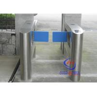 Cheap Long lifespan Swing Barrier Gate , remote control Speed Gate Systems with IR indicating system for sale