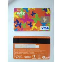 Cheap Prepaid custom visa smart debit card in butterfly design standard size for sale