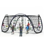 Cheap KAIQI 2018 Children Climbing Nets Outdoor Children Amusement Park Playground Equipment for sale