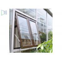 Cheap High Performance Aluminum Awning Window / Top Hung Roof Window for sale
