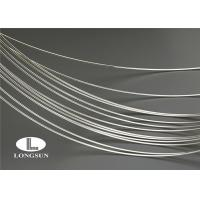 ISO9001 Silver Alloy Wire High Electrical Conductivity For Electrical Contacts