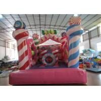 Kindergarten Baby Small Inflatable Bounce House , Inflatable Jumping Castle 3.5 X 4.5 X 4m