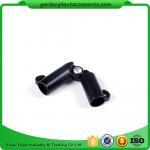 Cheap Black Garden Cane Connectors Deameter 8mm Color Black 10pcs/pack Garden Stakes Connectors for sale