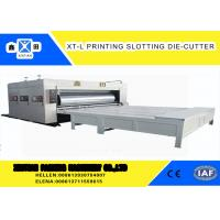 Buy cheap High Precision Cardboard Printing Slotting Machine 70 Pieces / Min Semi - Automatic from wholesalers