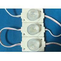 Quality 12 Volt LED Injection Module For Advertising Fonts 74*20mm Super Brightness wholesale