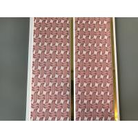 Cheap Pink Color water resistant bathroom wall panels Polyvinyl Chloride Material for sale