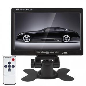 "Universal Waterproof 7"" Car Tft LCD Monitor Reverse Camera Input"