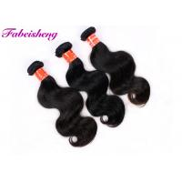 Cheap Natural Color Body Wave Weave Hair Extensions Double Layers Sewn Weft for sale