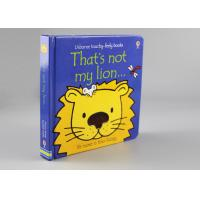 Childish Flocking Hardcover Children'S Books For Learning Cognitive Puzzle
