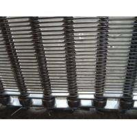 Cheap Hygienic Grade Chain Conveyor Belt For Biscuit Oven , Mesh Conveyor Belt Acid Resisting for sale