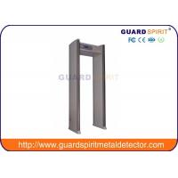 Cheap Exhibition Center Security Body Scanner Multi Zone Metal Detector / Gate Metal Detector for sale