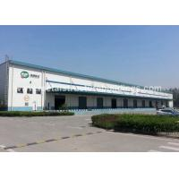 Quality Anti Typhoon Q235 Q345B Large Metal Garage Buildings With Single Layer Floors wholesale