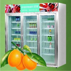 Commercial Supermarket Beverage And Milk Display  Refrigerator