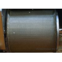 Furnace Tunnel Wire Belt Conveyor High Temperature Pressed Edge ISO9001