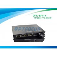 External Multimode Fiber Switch , Half Duplex 10 Gigabit Ethernet Switch