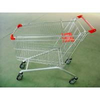 Cheap Large Scale Shopping Malls / Supermarket Shopping Carts Trolleys With Baby Seat for sale