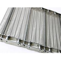 Quality Food Processing Wire Mesh Conveyor Chain , Sprocket Drive Stainless Steel Chain wholesale