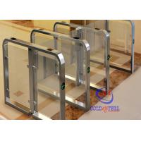 Cheap Fast Speed automatic swing  barrier gate for station airport and Fitness Gym for sale