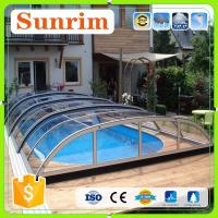 Buy Cheap Custom Any Color Size Polycarbonate Roof Cover Retractable  Swimming Pool Cover From Wholesalers
