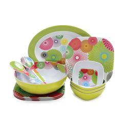 Cheap melamine dinnerware set melamine tableware set 16pcs for sale