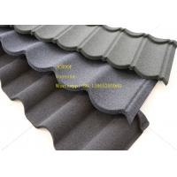 Cheap Green Back Stone Coated Metal Roof Tile 2.08 Sheets Tiles Per Sqm , Galvalume Steel Sheet for sale