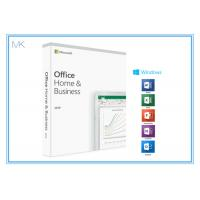 1 Device MS Office Home And Business 2019 Product Key Card