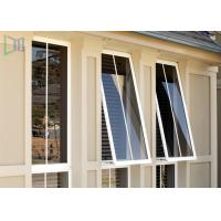 Cheap Double Glazed Aluminium Awning Windows Anti Theft / Air Proof For Commercial for sale