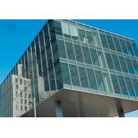 Commercial Building Aluminium Curtain Wall Visible Full Glass