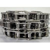 Cheap Stainless Steel Conveyor Chain Links , Sprocket Saws Precision Roller Chain for sale