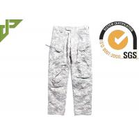 Lightweight Men's Acu Combat Pants / Cargo Pants Military Style For All Season