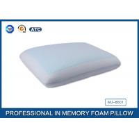 Cheap Classic Memory Foam Cooling Gel Pillow with Light Blue Cool Pillow Case for sale