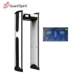 Cheap Color Screen Waterproof Walk Through Metal Detector 50-60HZ AC85-264V for sale