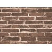 Moisture Proof 3d Brick Effect Wallpaper Waterproof Vinyl Wall Covering Size 0.53*10m