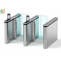 Cheap Automatic Supermarket Swing Gate,Face recognition Glass Arm Turnstile Systems for sale