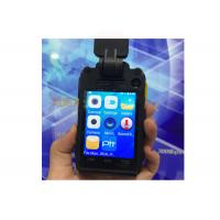 Android5.1 4G  WIFI  Bluetooth GPS  Police Body Worn Camera 140 Degree Wide Angle With 3600 Mah Battery