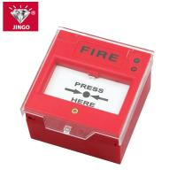 Conventional fire alarm 24V two wire bus manual call point,resetable