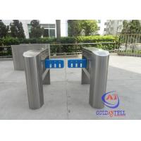 Cheap Waist height automatic Station Swing Gate Turnstile , Swing Gate Turnstile for sale