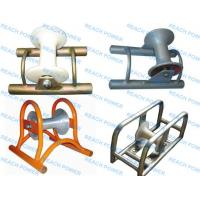 Cheap Cable Roller with Steel Plate Frame during cable laying work for sale