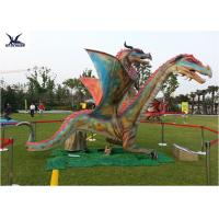 Cheap Outdoor Exhibition Animatronic Dinosaur Lawn Statue Artificial Dragon Statue for sale