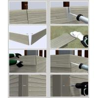 Cheap Decorative Fiber Cement Siding That Looks Like Wood , Exterior Cement Board Siding for sale